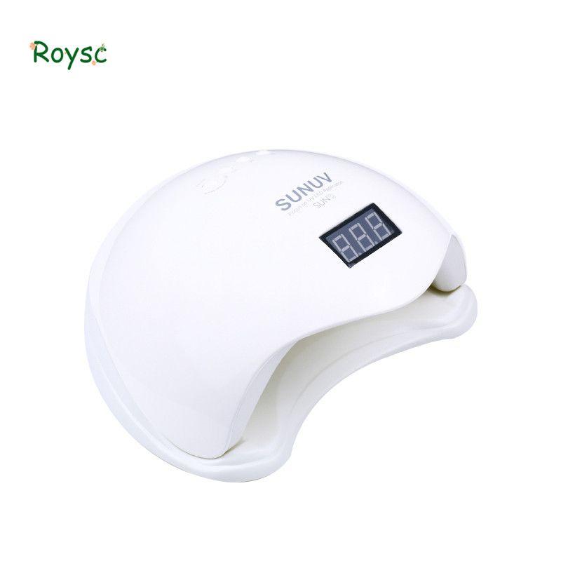 Sun5 UV Led Nagel Lampe 48 watt mit LCD Timer und Boden Make-Up Nagel Trockner Polnischen Maschine für Aushärtung Nail kunst Werkzeuge (3)