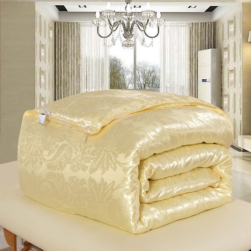 High Quality 100% Natural/Mulberry Silk Comforter for Winter/Summer King Queen Full Twin size Duvet/Blanket/Quilt edredom Filler