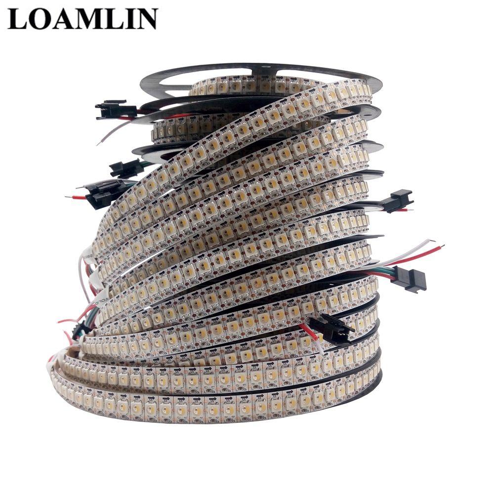 Led Strip SK6812(Similar WS2812B) RGBW 4 In 1 30/60/144 Leds/Pixels/m;Individual Addressable Led Strip IP30/IP65/IP67 DC5V