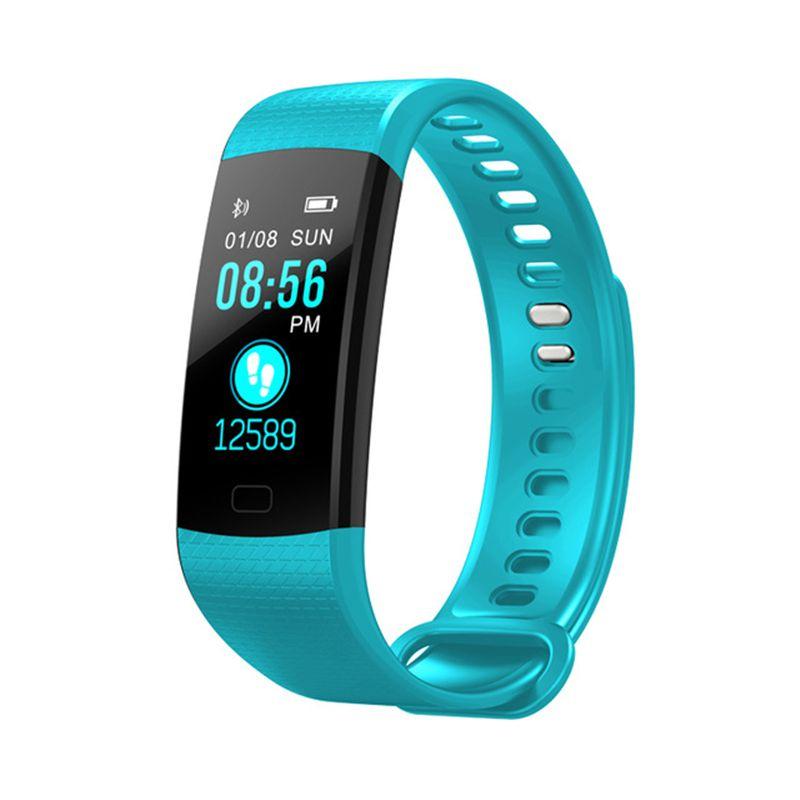 OGEDA Sport Bracelet Watch Women Men LED Waterproof Smart Wrist Band Heart rate Blood <font><b>Pressure</b></font> Pedometer Clock For Android iOS