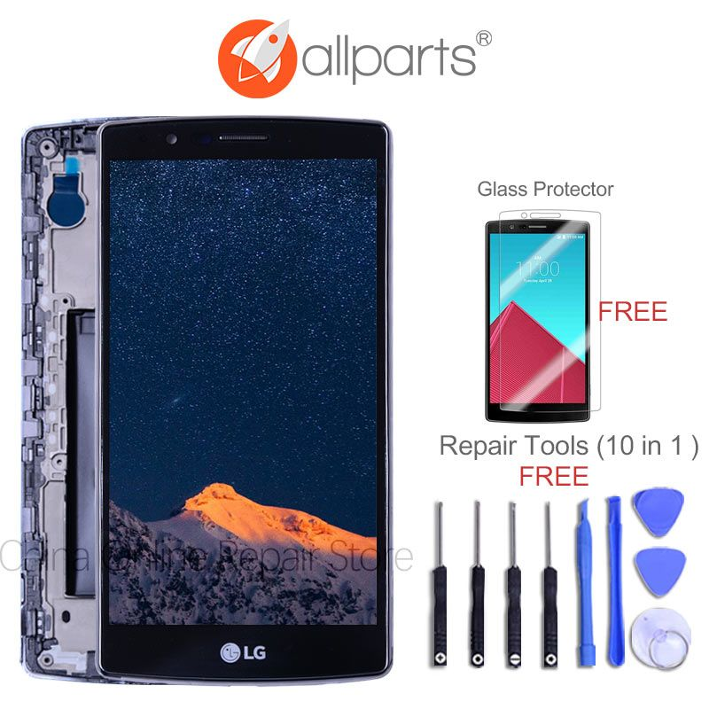 Dual SIM 5.5<font><b>2560x1440</b></font> Display For LG G4 H818 LCD Display Touch Screen and Digitizer H818P for LG G4 Screen Replacment