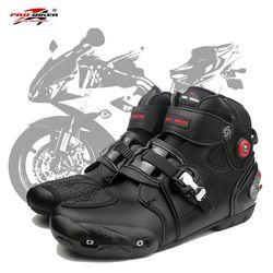 Profesional moto rbike moto rcycle botas moto cross racing botas biker impermeable proteger el tobillo moto zapatos A9003