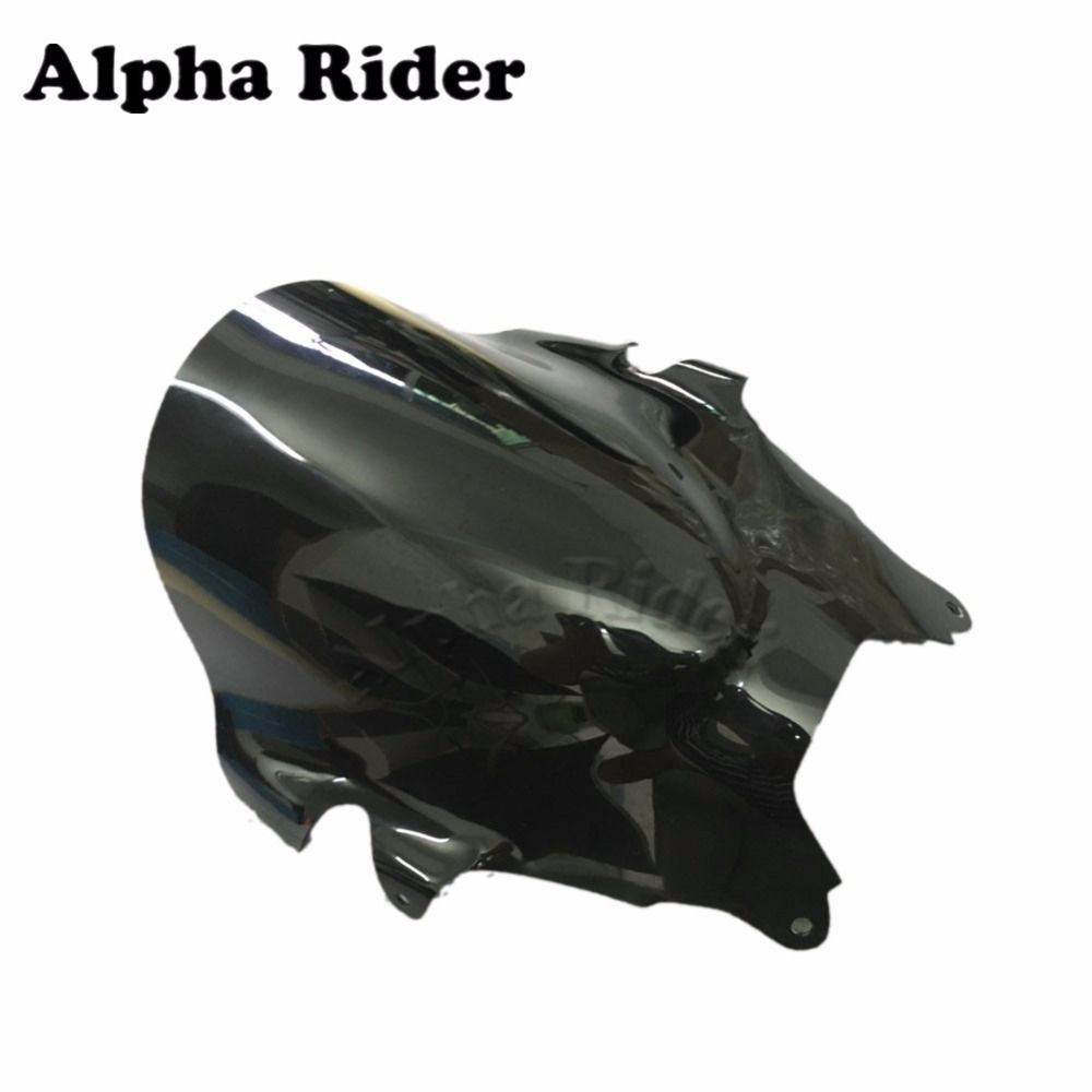 Motorcycle Windshield WindScreen for Suzuki GSF 600 00-05 GSF600 2000-2005 2004 2003 2002 2001 Black ABS Front Glass Deflector