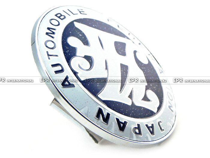 EPR Car Styling Blue Emblem Badge JAF Japan Automobile Federation JDM Front Bumper Grill Badge
