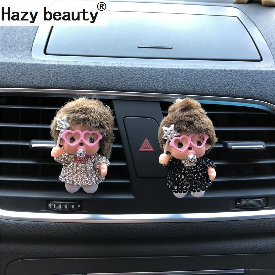 Hazy beauty, angel lovely baby, car perfume Air freshener, car air conditioner, air outlet decoration Car Ornament