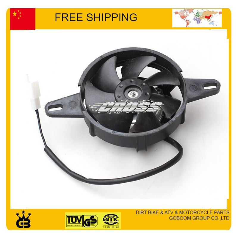 zongshen foton 150cc 175cc 200cc motorcycle water cooled engine fan accessories free shipping