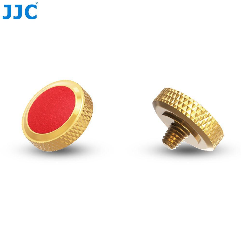 JJC luxueux métal caméra obturateur doux bouton de libération pour Leica MType240/Fuji X100/X100T/X100F/X-T2/X-T10/X-T20/X-E3/X-PRO/Sony