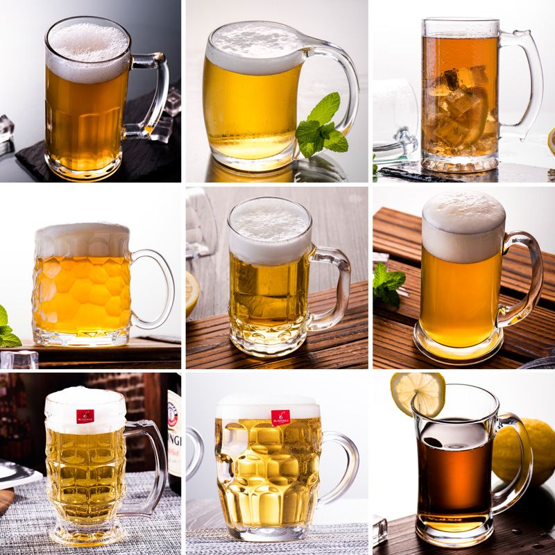 ELETON 9 styles beer glass wine glass beer steins Juice glass milk cup Party Hotel Wedding Glasses Gift Drinkware