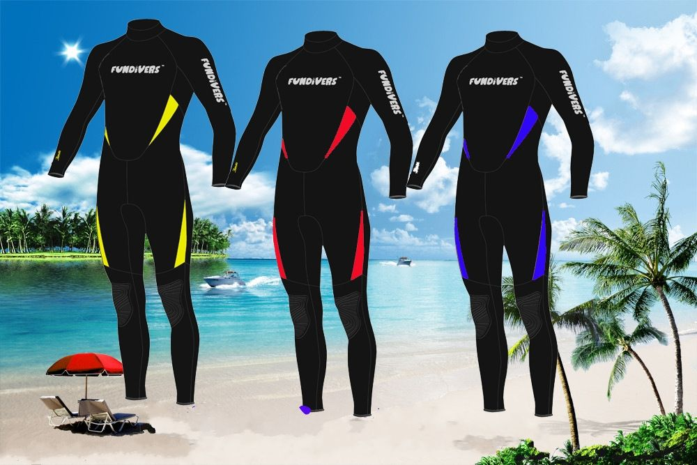 Top Quality 3MM Neoprene Scuba Diving Wetsuit Winter Swimming Surfing Clothing Men Women Lovers Warm Jumpsuit Wetsuits