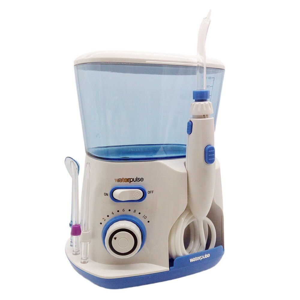 Professionnel Orale Irrigator Eau Flosser Irrigation Soie Dentaire 800 ml réservoir d'eau avec 5 Jet D'eau Conseils