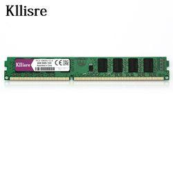 Kllisre ОЗУ DDR3 4 ГБ 1333 мГц Desktop памяти 240pin 1.5 В продать 2 ГБ/8 ГБ Новый DIMM