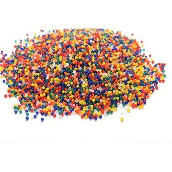200 шт./упак. цветной Orbeez Мягкий Кристалл водный Пейнтбол Пуля для ружья выращивания воды бусины растут шары водяной пистолет, игрушки оптом