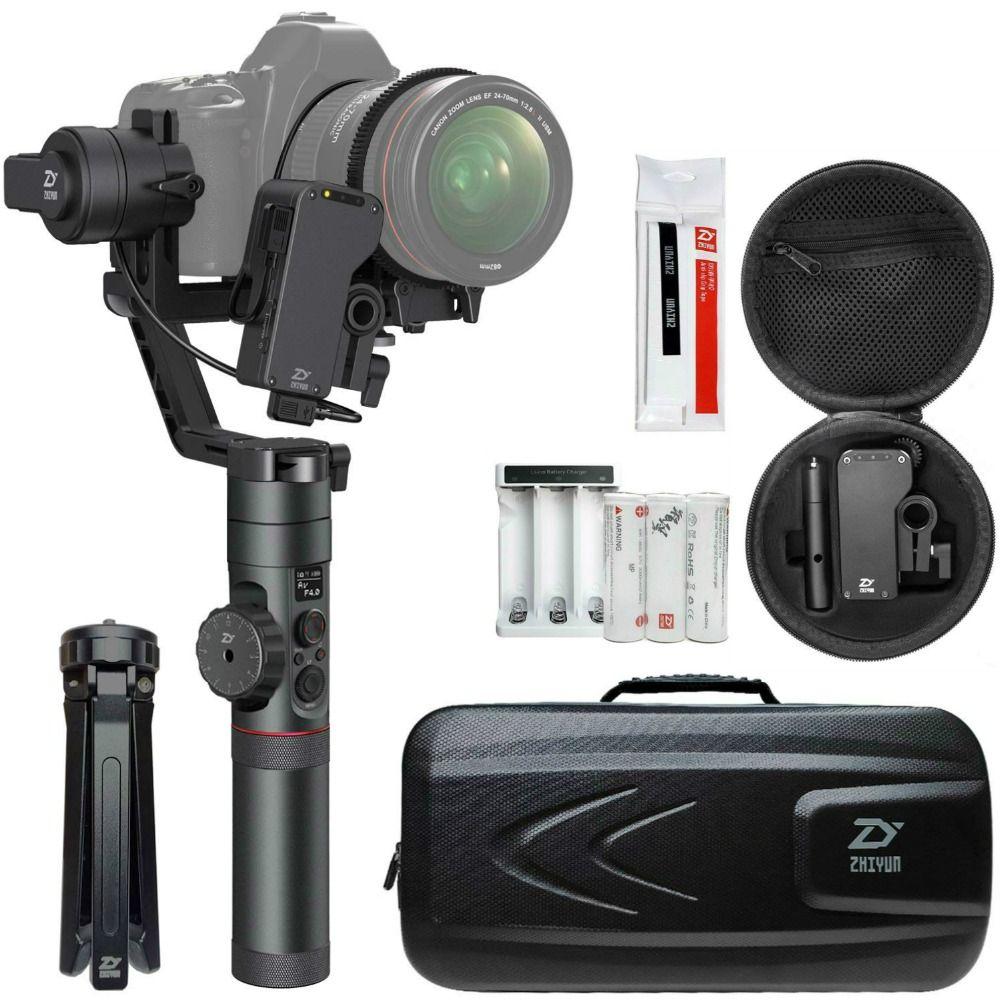 Zhiyun Kran 2 (Erhalten Freies Servo Folgen Fokus) 3-achse Handheld Gimbal Stabilisator für Canon Nikon Sony DSLR Kamera Mit Einem Gewicht Von 1,1-7lb