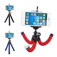 Автомобильный держатель для мобильного телефона Гибкий штатив Осьминог Кронштейн селфи подставка крепление монопод поддержка для iPhone XIAOMI ...