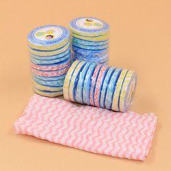 Voyage de ménage Humide Lingettes magique comprimé serviette beauté propre laver une serviette de visage mini la jetables serviettes