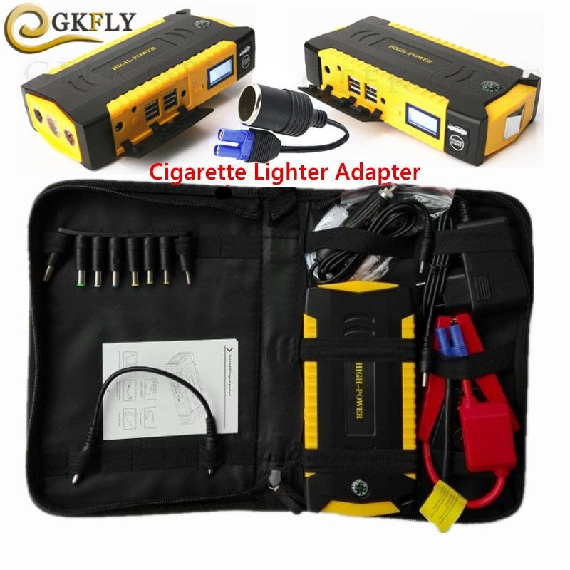 Car Jump Starter 16000mAh 600A Portable Power Bank <font><b>Starting</b></font> Device Booster 12V Emergency Car Charger For Car Battery Charger CE