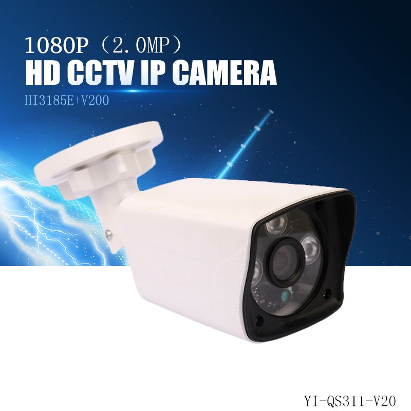 YiiSPO 2.0MP 1080P HD POE IP Camera infrared security camera IR-CUT good Night Vision P2P onvif waterproof Xmeye iphone <font><b>view</b></font>