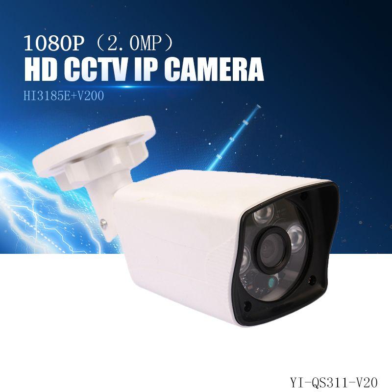 YiiSPO 2.0MP 1080P HD POE IP Camera infrared security camera IR-CUT good Night <font><b>Vision</b></font> P2P onvif waterproof Xmeye iphone view