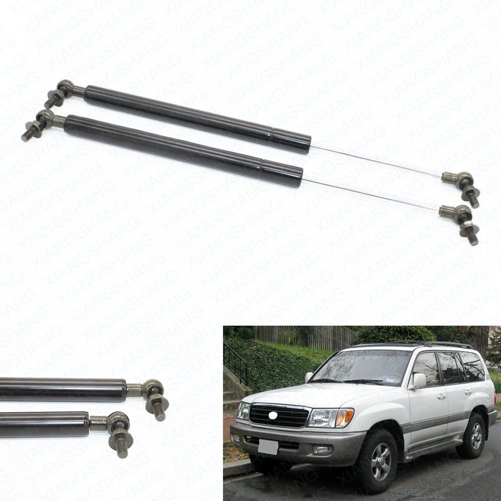 2pcs Auto Bonnet Hood Gas Struts Shock Struts Lift Supports for Toyota Landcruiser 100 Lexus Land cruiser