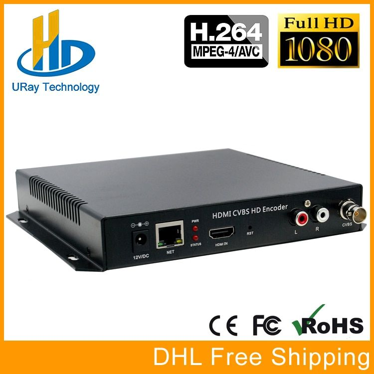 HD H.264 HDMI +CVBS AV Composite BNC SD Video Encoder Support Youtube Facebook Ustream Wowza Live streaming Broadcast Via RTMP