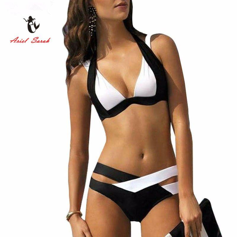 Bikini 2017 New Swimwear Women Sexy Push Up Bikinis Set Swimsuit Maillot De Bain  Woman Swimwears Bathing Suit BJ189