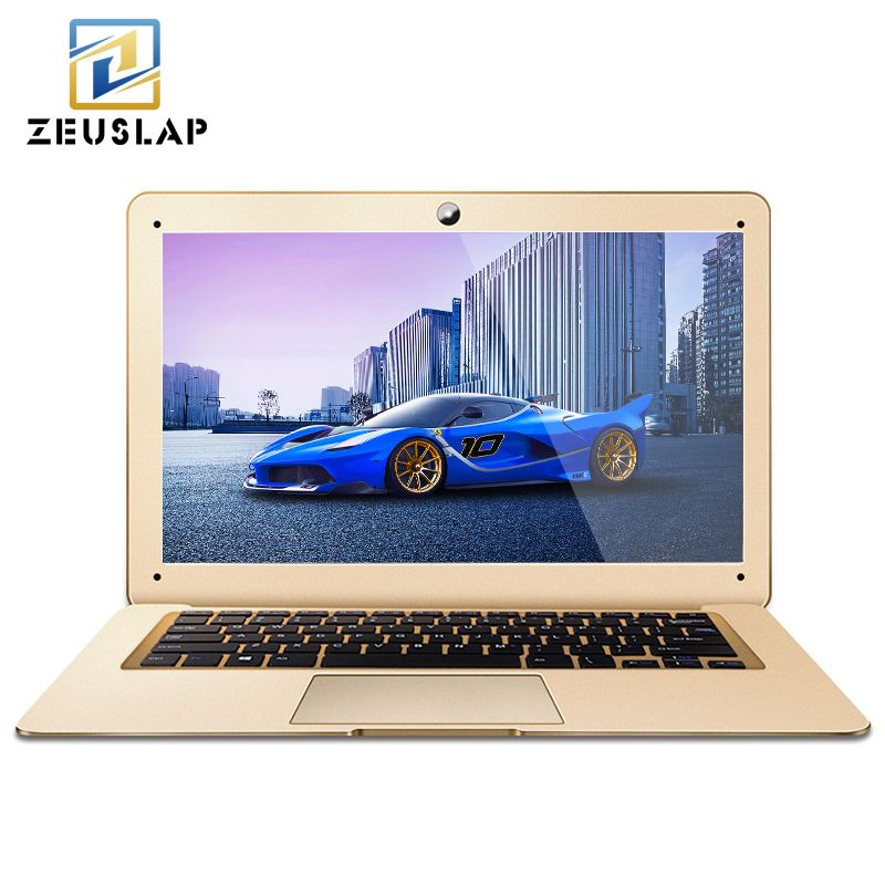 ZEUSLAP-A8 14inch 8GB RAM+1TB HDD Windows 10 System Intel Quad Core 1920*1080P Full HD Laptop Notebook Computer