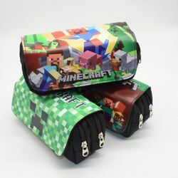 Pencil Case Estojo Escolar Kalem Kutusu Estuche Escolar Etui Pencilcase Game Box School Kawaii My World Bag Lapices Grande