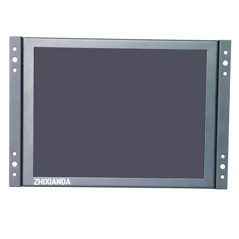 Open Frame 12 zoll 1024x768 HD 4:3 Metallgehäuse HDMI VGA USB Vier resistiven Touch-Monitor LCD Display