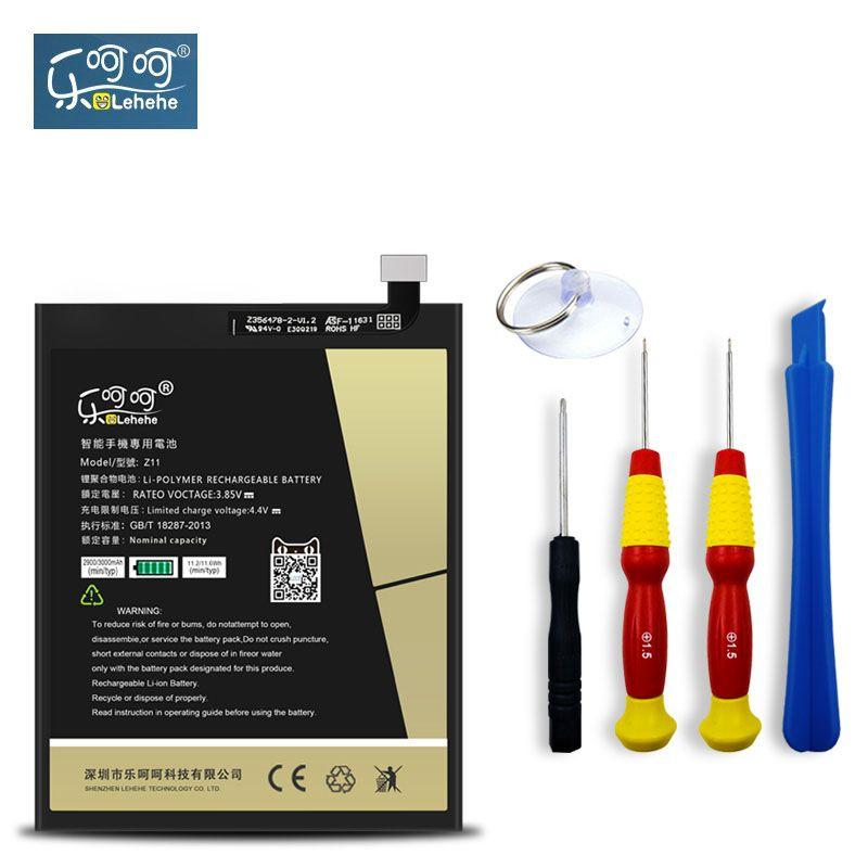 LEHEHE Batterie Pour ZTE Nubia Z11 NX531J Li3829T44P6h806435 3000 mAh Haute Qualité Rechargeable de Rechange Batterie Cadeau