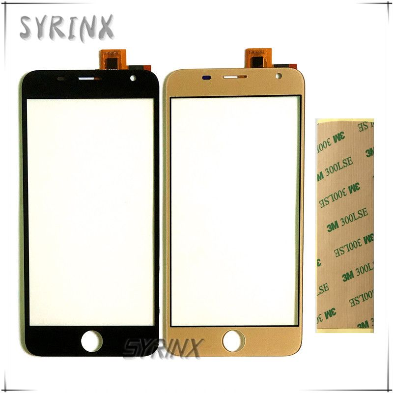 Syrinx Tape Touch Panel Touch Screen For Prestigio Grace R7 PSP7501DUO psp7501 duo Touch Panel Front Glass Lens Sensor Digitizer