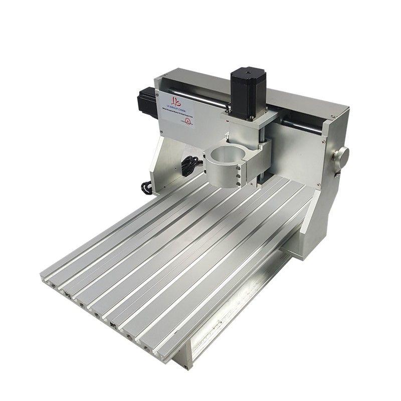 Aluminium Drehmaschine Körper CNC 6040 Router 1605 Ball Schraube Rahmen Kit DIY Gravur Maschine