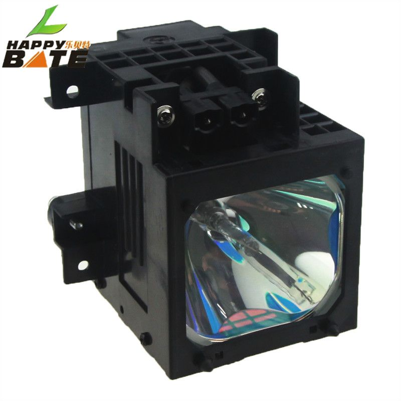 XL-2100/A1606034B/XL-2100E lámpara compatible para KF-42WE610 KF-42WE62 KF-50SX300 KF-50WE610 KF-50WE620 con vivienda happybate