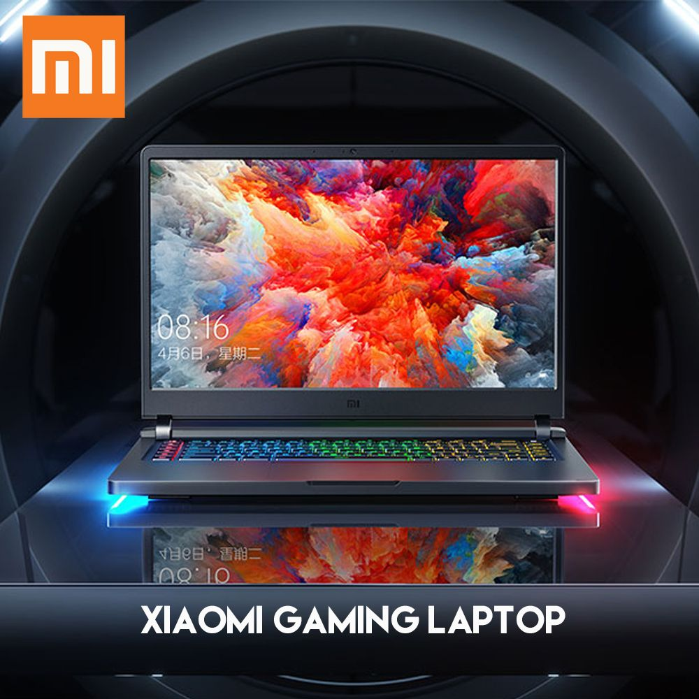Original Xiaomi Mi Gaming Laptop Windows 10 Intel Core i7 - 8750H 16GB RAM 256GB SSD 1TB HDD HDMI Notebook Type -C Bluetooth