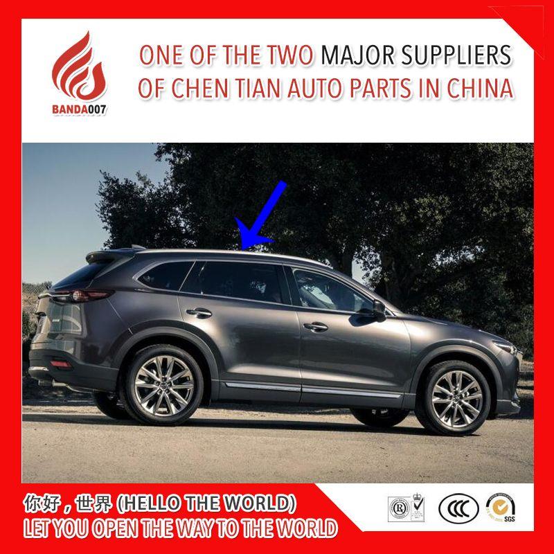 High quality Aluminium alloy screw install side rail bar roof rack for Mazda CX-9 cx9 2016 2017 2018 16 17 18