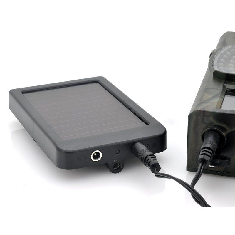 Hunting Camera Battery Solar Panel Charger External Power for Trail Camera HC300M HC350M HC550G HC550M HC700G
