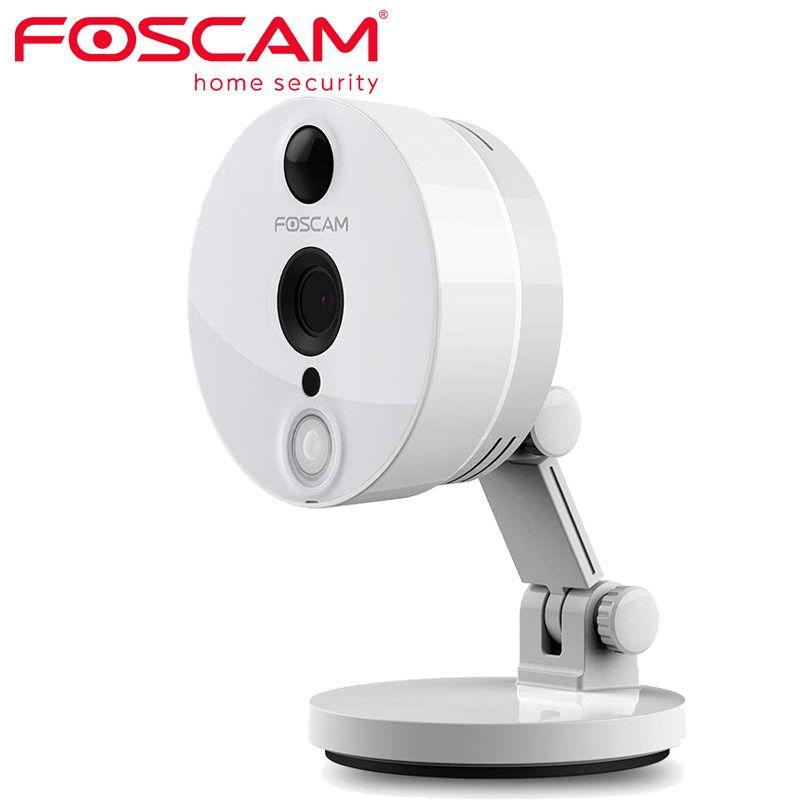 Caméra IP de sécurité d'intérieur de télévision en circuit fermé de WiFi de foarnaque C2 1080P avec la détection de mouvement de Vision nocturne Audio à 2 voies