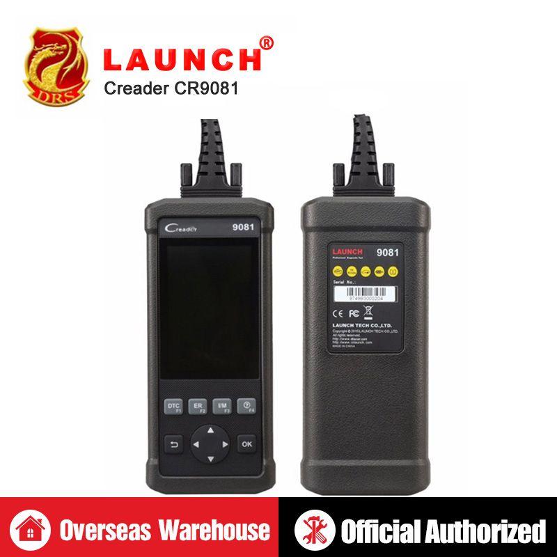 Starten CReader 9081 CR9081 Volle OBD2 Diagnose Werkzeug Scanner Auto Code Reader Automotive Scanner Paarung Auto Emissionen Analysator