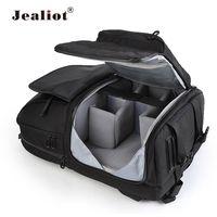 Jealiot универсальная сумка для камеры рюкзак DSLR цифровая Видео Фото Сумка Чехол Professional waterproof shockproof для Canon Nikon