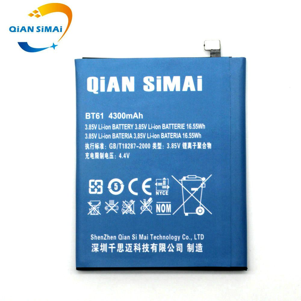 QiAN SiMAi 4300mAh 2017 new BT61 BT 61 battery for Meizu M3 Note M3Note M681H M681 (not fits for L681H L-version )+track number