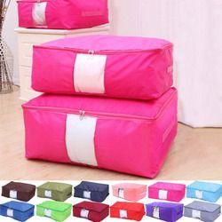 Couette De Stockage Sacs Oxford Bagages Sacs S-XXL Accueil Organisateur De Stockage Lavable Armoire Vêtements Stockage De Stockage Sacs