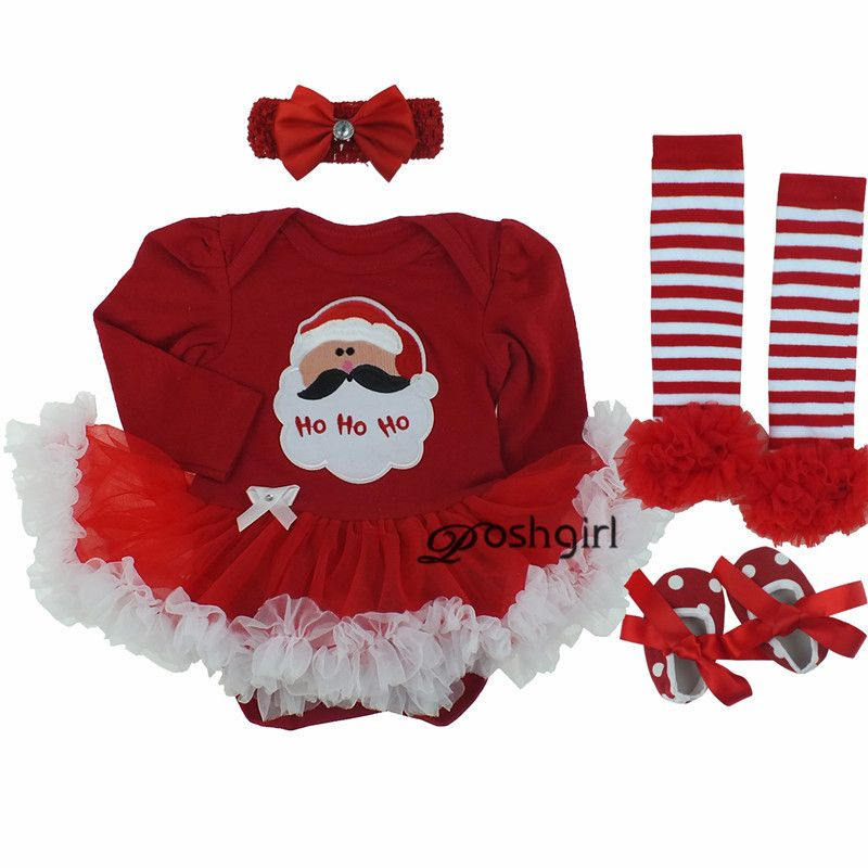 Infant Baby Girl Summer Suit Novelty Costume Baby Christmas Clothing Sets Bebe Rompers Birthday Party Cosplay Gift 3 6-9 12 18M