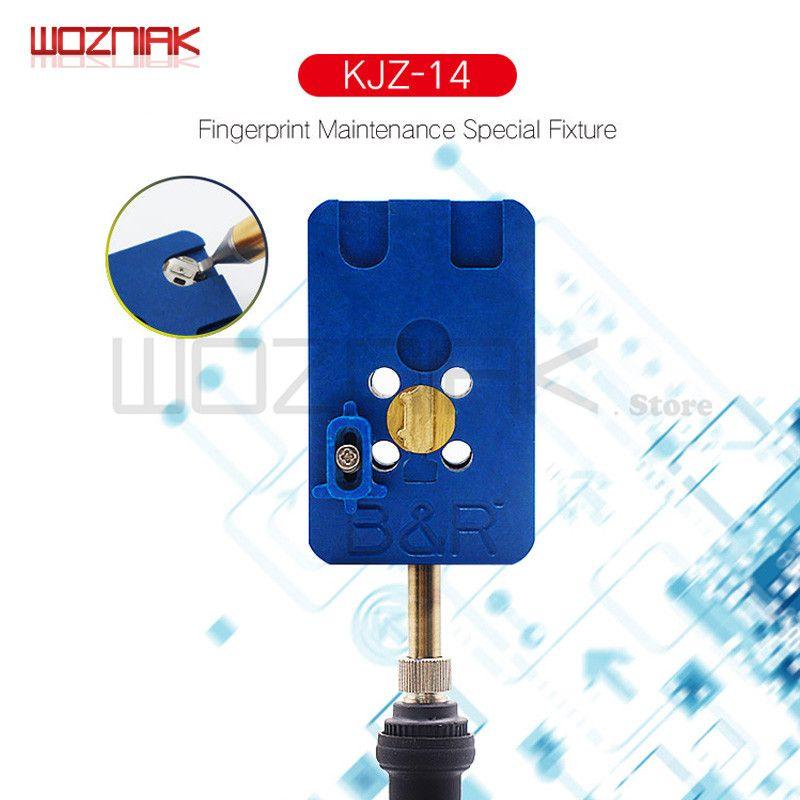 Wozniak pour la maison D'empreintes Digitales bouton réparation base mobilier plate-forme de Maintenance pour iphone 8 8 p 7 7 p 6 s 6sp 6 6 p 5S 5g U10 IC Outil