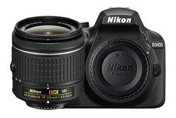 Nueva Nikon d3400 24.2 MP cámara réflex digital Cuerpo & af-s DX 18-55mm lente Kit