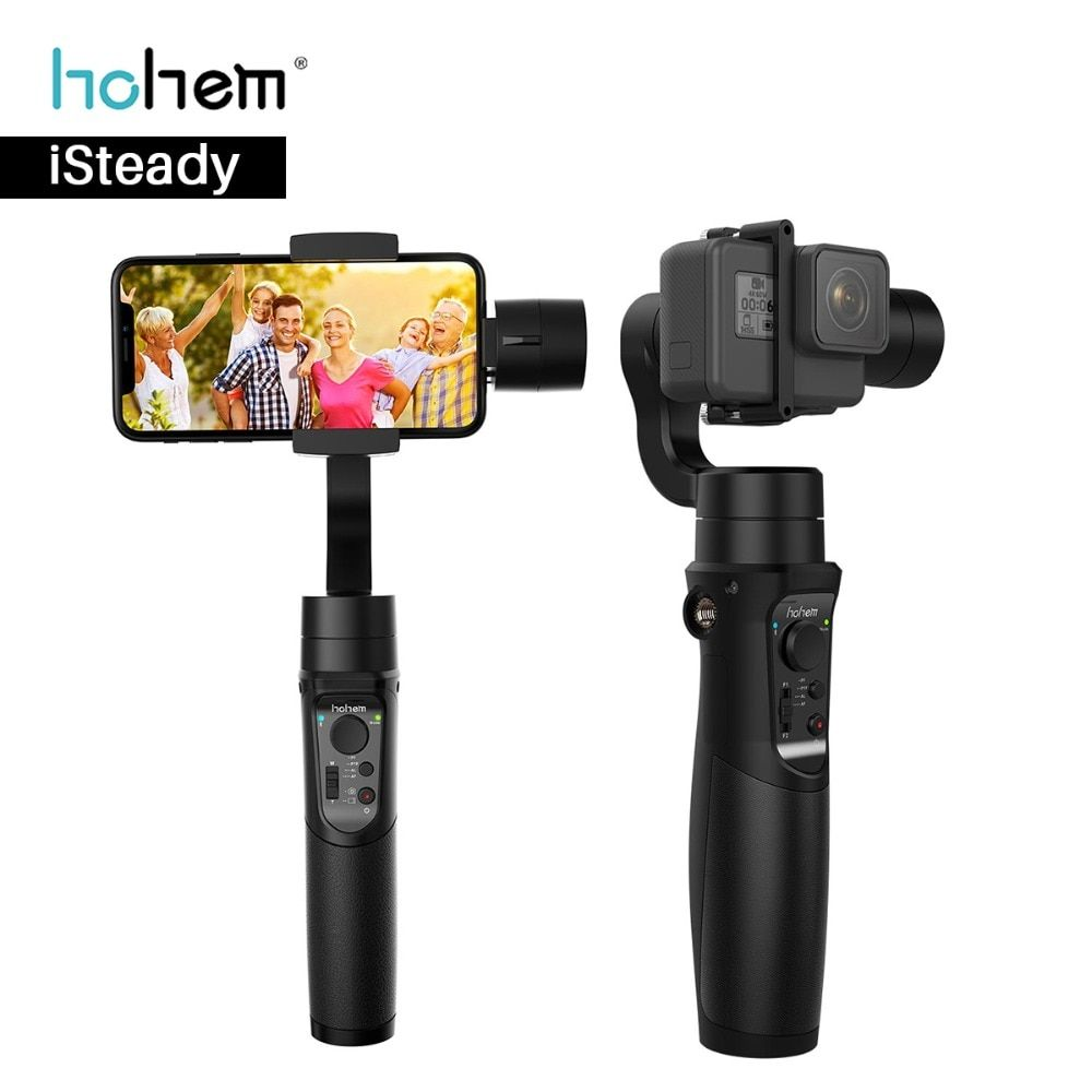 Hohem iSteady Pro 3 Axis Gopro Gimabal for Yi Cam Gopro Hero 6 5 Sony RX0 SJCAM Stabilizer for Phone Gimbal for iPhone Samsung