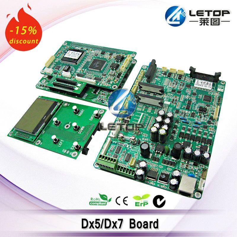 including dx5/dx7 main board and head board and key board single head dx5 printhead board for LETOP/TORIM/Lecai printer