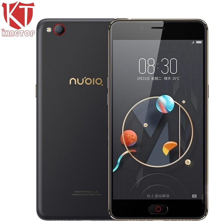 Original Nubia N2 4G LTE Mobile Phone MT6750 Octa Core 4G RAM 64G ROM 5.5 inch Front 16.MP Rear 13.0MP 5000mAh Fingerprint ID