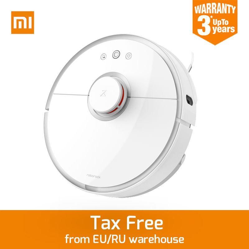New Original Xiaomi Roborock S50 Robot Vacuum Cleaner 2 APP Control Dust Sterilize Smart Planned Sweeping and Wet Mopping