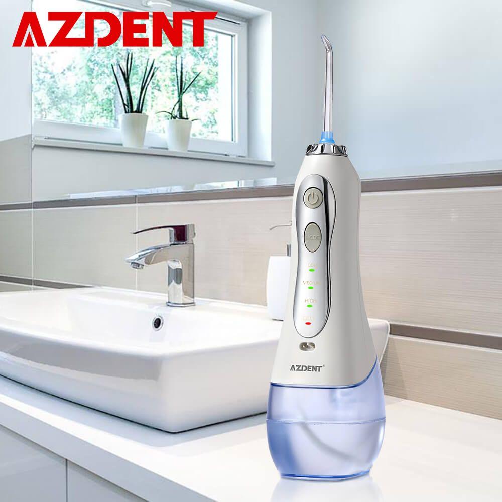 Nouveau 3 Modes sans fil Oral irrigateur Portable eau dentaire Flosser USB Rechargeable Jet d'eau soie dentaire choisir 5 pointes de Jet 300 ml