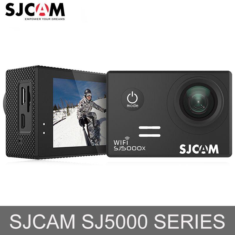 La russie Stock! SJCAM SJ5000 & SJ5000X WiFi Ultra HD 4 k D'action Caméra 30 m Étanche Casque Sport Caméra Aller Extrême Pro cam Mini DV