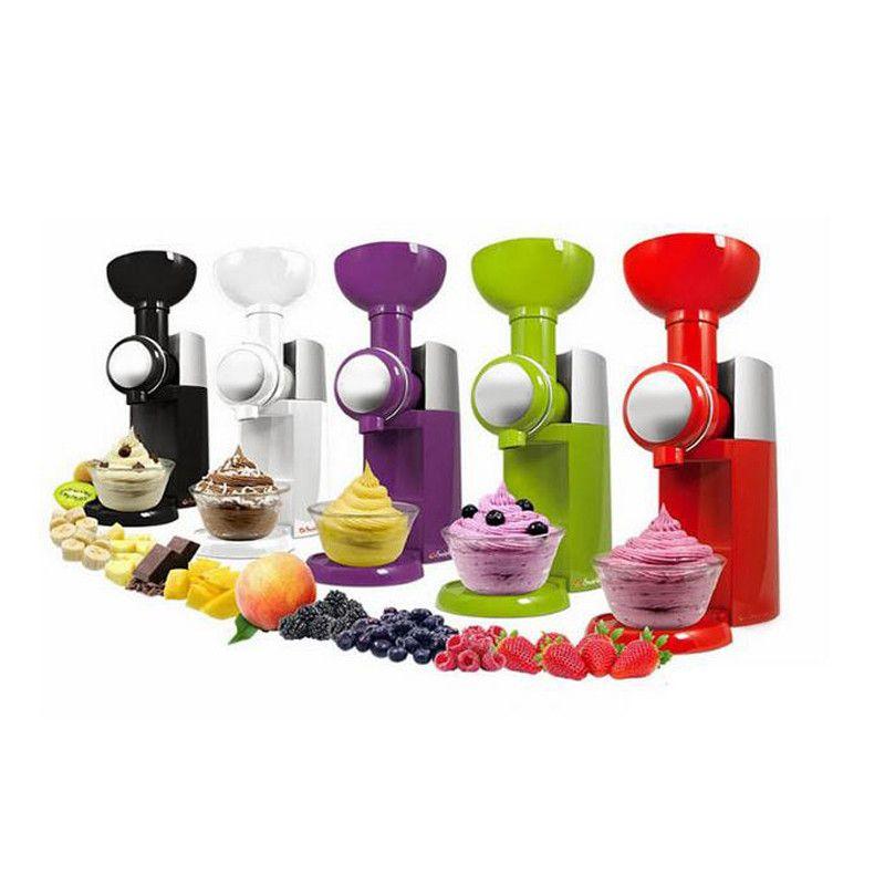 Big Boss Swirlio Automatic Frozen Fruit Dessert Machine Fruit Ice Cream Machine Maker Milkshake Machine 220V /110V EU AU UK US